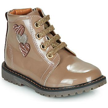 Zapatos Niña Zapatillas altas GBB MOIRA Beige