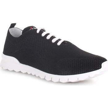 Zapatos Hombre Zapatillas bajas Kiton USSFITSN008090300P Negro