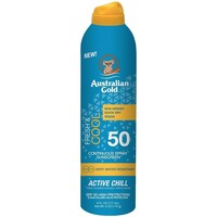 Belleza Protección solar Australian Gold FRESH COOL SPF50 ACTIVE CHILL SPRAY 177VP Multicolor