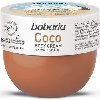 Belleza Hidratantes & nutritivos Babaria COC BODY CREAM 400ML Multicolor