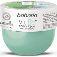 Belleza Hidratantes & nutritivos Babaria VIT B3  BODY CREAM 400ML Multicolor