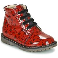 Zapatos Niña Zapatillas altas GBB NAREA Rojo