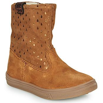 Zapatos Niña Botas de caña baja GBB KINGA Marrón