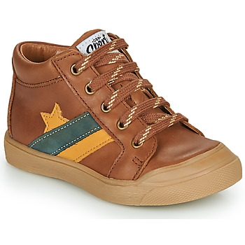 Zapatos Niño Zapatillas altas GBB LEON Marrón