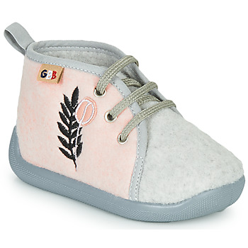 Zapatos Niños Pantuflas GBB APOLOCHON Rosa