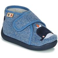 Zapatos Niños Pantuflas GBB APOCHOU Azul