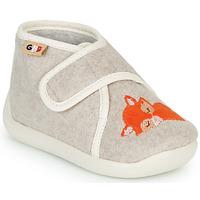 Zapatos Niños Pantuflas GBB APOCHOU Beige