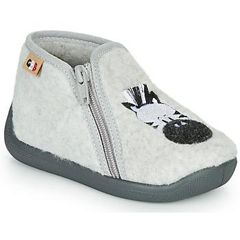Zapatos Niña Pantuflas GBB APOPOTAM Gris