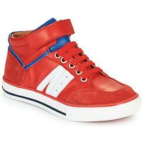 Zapatos Niño Zapatillas altas GBB ALIMO Rojo