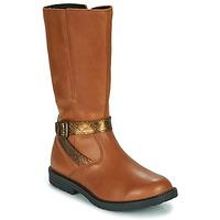 Zapatos Niña Botas urbanas GBB OKINDI Marrón