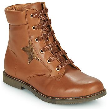 Zapatos Niña Zapatillas altas GBB JAMILA Marrón