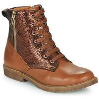 Zapatos Niña Zapatillas altas GBB ANASTY Marrón