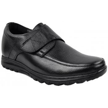 Zapatos Hombre Mocasín Zerimar VELCROBLACK Negro