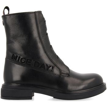 Zapatos Niña Botas de caña baja Gioseppo REMDA NEGRO