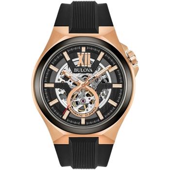 Relojes & Joyas Hombre Relojes analógicos Bulova 98A177, Automatic, 46mm, 10ATM Oro