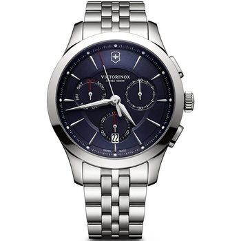 Relojes & Joyas Hombre Relojes analógicos Victorinox 241746, Quartz, 44mm, 10ATM Plata