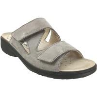 Zapatos Mujer Zuecos (Mules) Mobils By Mephisto Geva gris pardo