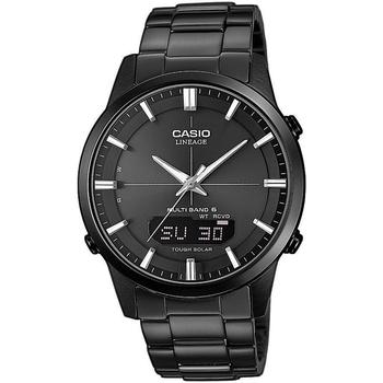 Relojes & Joyas Hombre Relojes analógicos Casio LCW-M170DB-1AER, Quartz, 43mm, 10ATM Negro