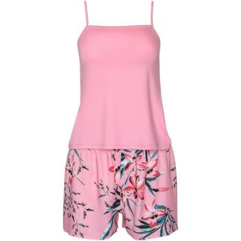 textil Mujer Pijama Lisca Pijamas cortos Harper  Tank Top Rosa Pálido