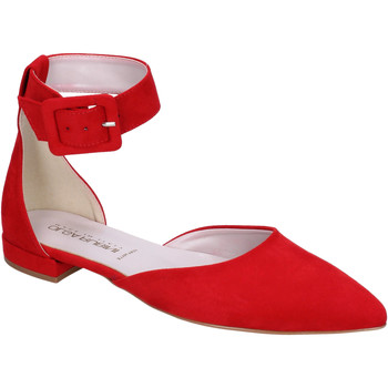 Zapatos Mujer Bailarinas-manoletinas Olga Rubini BJ388 Rojo