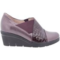 Zapatos Mujer Mocasín Gasymar 175778 Burdeo