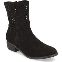 Zapatos Mujer Botines Buonarotti 1S-1097 Negro
