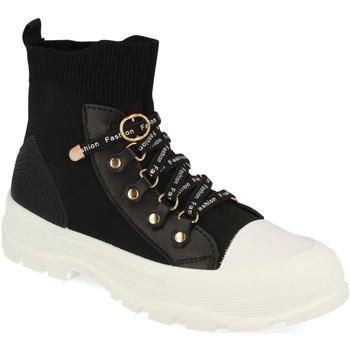 Zapatos Mujer Zapatillas altas Buonarotti 1CD-1076 Negro