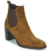 Zapatos Mujer Botines Adige FANNY V1 CHEV VEL NOIX Marrón