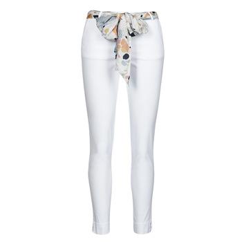 textil Mujer Pantalones con 5 bolsillos Betty London OUMA Blanco