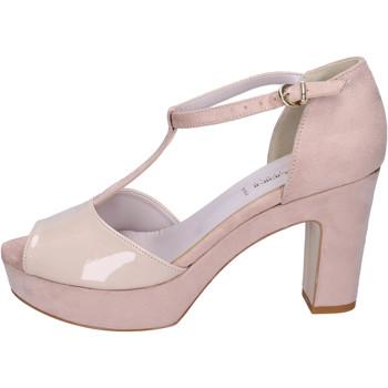 Zapatos Mujer Sandalias Olga Rubini Sandalias Gamuza sintética Beige