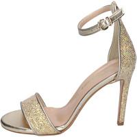 Zapatos Mujer Sandalias Olga Rubini Sandalias Glitter Platino