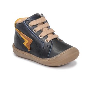 Zapatos Niño Zapatillas altas GBB APODAMI Azul