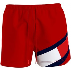 textil Hombre Bañadores Tommy Hilfiger UM0UM02048 rojo