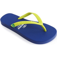 Zapatos Niño Chanclas Brasileras Chanclas de playa ®,Clasica Combi Brasil NL KID Blue/Yellow