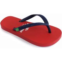 Zapatos Niños Chanclas Brasileras Chancla ®,Clasica Combi Brasil NL KID Red/Blue