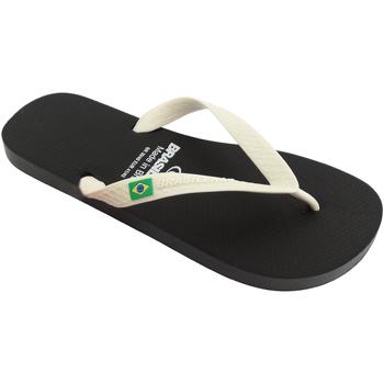 Zapatos Hombre Chanclas Brasileras Chancla ®, Classic Combi M SS19 Black/White