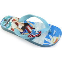 Zapatos Niño Chanclas Brasileras Chancla ®,Printed 20 Surfers LT.Blue/LT.Blue