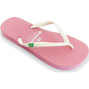 Zapatos Mujer Chanclas Brasileras Chanclas de playa ®, Classic Combi W SS19 Pink/White