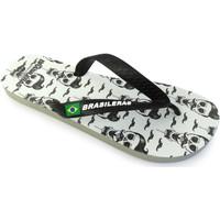 Zapatos Hombre Chanclas Brasileras Chancla ®,Printed 20 Calahipster 2.0 Black/Black