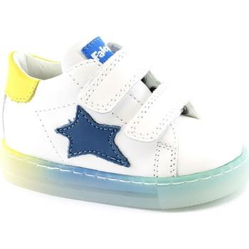 Zapatos Niño Zapatillas bajas Naturino FAL-E21-15350-WY Bianco