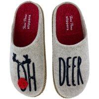 Zapatos Mujer Pantuflas Toni Pons Zapatillas de Casa  Miri-Ef Deer Beige