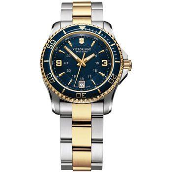 Relojes & Joyas Mujer Relojes analógicos Victorinox 241790, Quartz, 34mm, 10ATM Plata