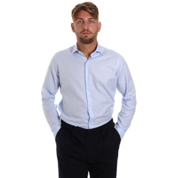 textil Hombre Camisas manga larga Les Copains 000.058 P3196SL Azul