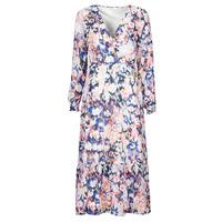 textil Mujer Vestidos largos Only ONLZOE Blanco / Multicolor