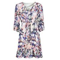 textil Mujer Vestidos cortos Only ONLZOE Blanco / Multicolor
