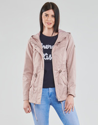 textil Mujer Parkas Only ONLLORCA Rosa