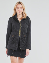 textil Mujer Parkas Only ONLLORCA Negro