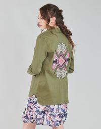 textil Mujer Chaquetas / Americana Only ONLAUDREY Kaki