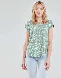 textil Mujer Tops / Blusas Only ONLVIC Verde / Blanco