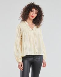 textil Mujer Tops / Blusas Only ONLNEW ELISA Beige